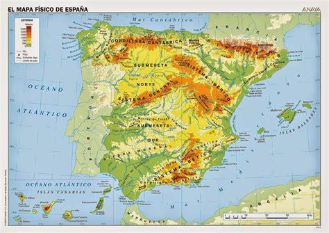 Comprendemos: Mapa Físico de España