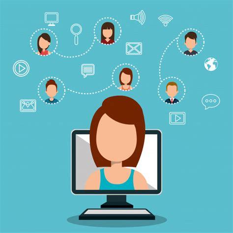 Comunidad online | Descargar Vectores gratis