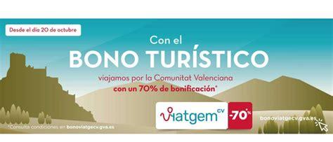 Comunidad Valenciana lanza bonos viaje para incentivar el ...