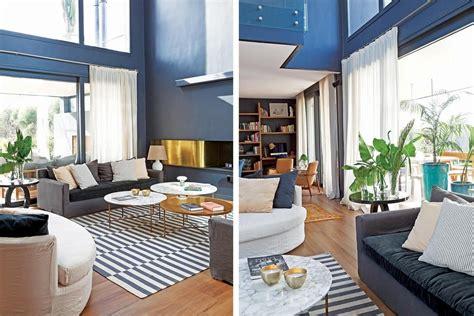Con centro verde, paredes grises y transparencias, una ...