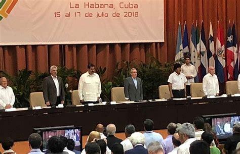 Con fuerte condena al imperialismo cerró en Cuba el Foro ...