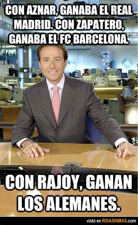 Con Rajoy, ganan los alemanes.   Imagenes de humor