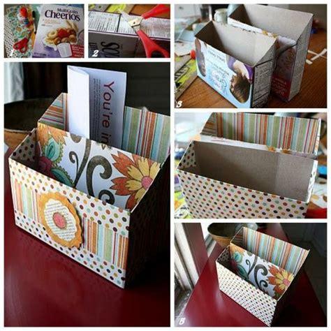 Con simples cajas de cereal ! | Reciclar para decorar ...