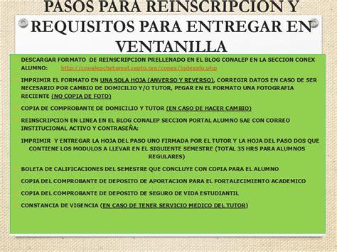 Conalep Plantel Chetumal: ATENCIÓN ALUMNOS A CURSAR 3° Y 5 ...