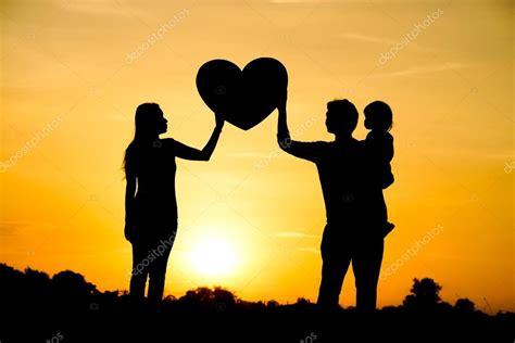 conceito de amor da família — Fotografias de Stock ...