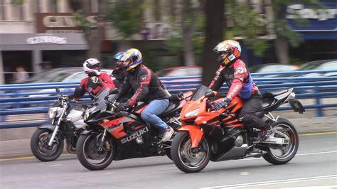 Concentración de Motos en Madrid contra los guardarrailes ...