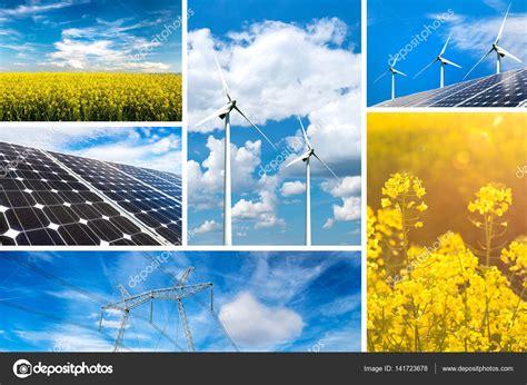 Concept d'énergie renouvelable et durable des ressources ...