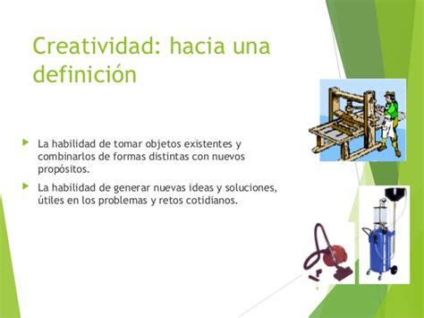 Concepto de creatividad creador y elementos