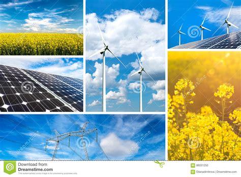 Concepto De Energía Renovable Y De Recursos Sostenibles ...