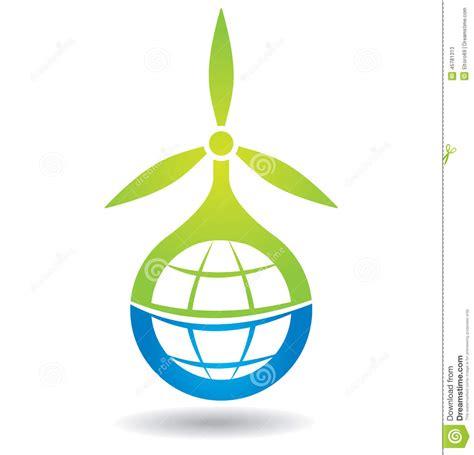 Concepto De La Energía Renovable Ilustración del Vector ...