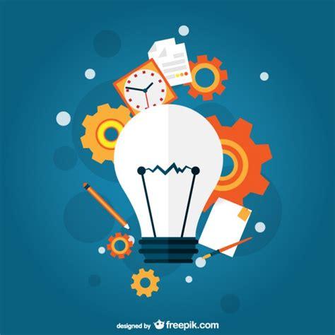 Concepto idea creativa | Vector Gratis