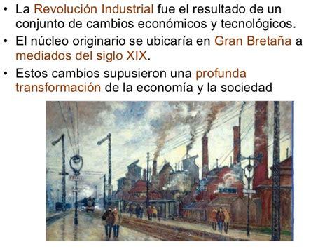 Concepto y causas de la Revolución Industrial