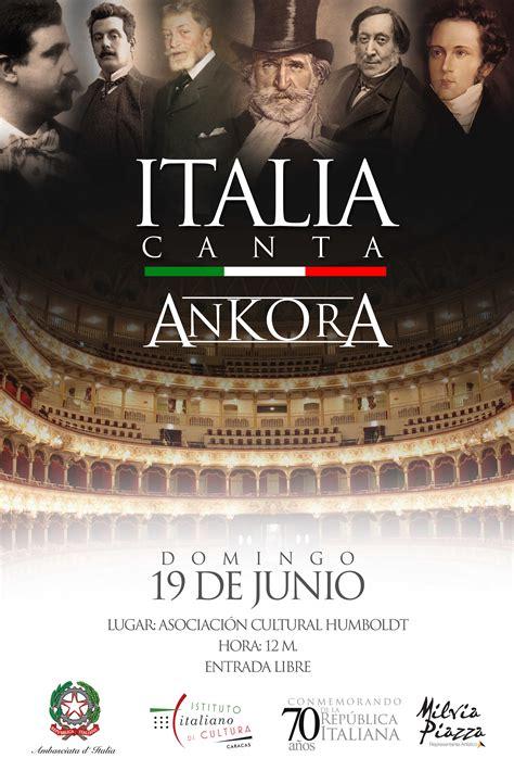 Concerto  Italia Canta Ankora