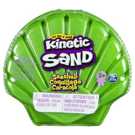 Concha Marina. Kinetic Sand  Color verde . Juguetes ...