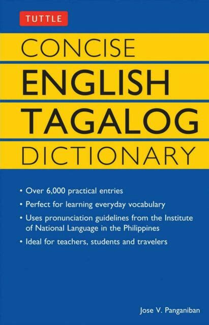 Concise English Tagalog Dictionary by Jose V. Panganiban ...