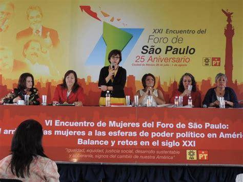 Concluye hoy en México XXI Encuentro del Foro de Sao Paulo