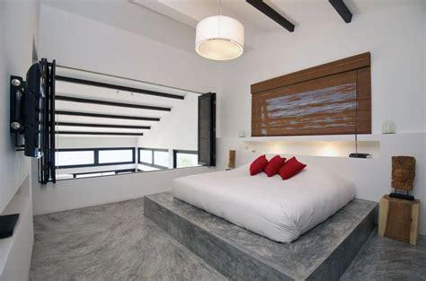 Concrete Floor in 18 Bold and Contemporary Bedroom Designs ...