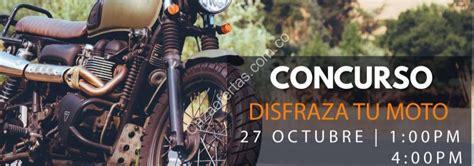 Concurso Outlet Factory Disfraza tu moto: Gana una moto 125cc
