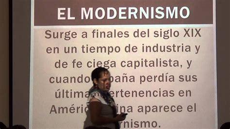 Conferencia femenino   Modernismo latinoamericano   13 de ...