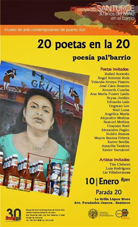 Confesiones: 20 poetas en la 20 poesía pal barrio