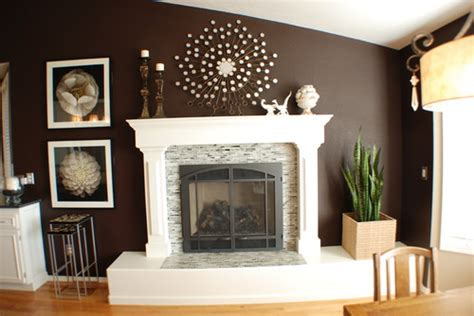 Confessions of A Cf wife: Dr.Appointment and Faux Fireplace