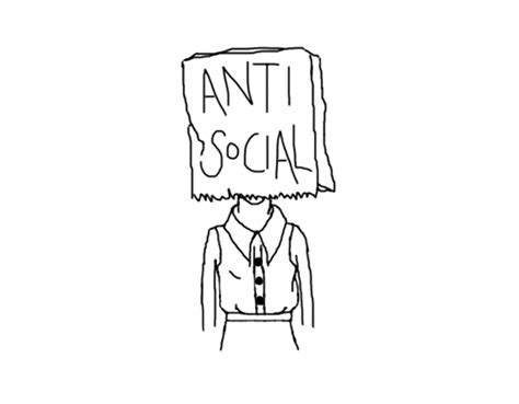 Confessions of an anti social person – ~From Life To Shereen~