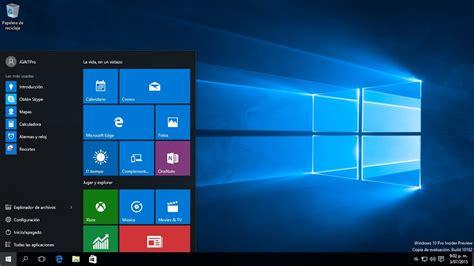 Configuración del Menú inicio en Windows 10   YouTube