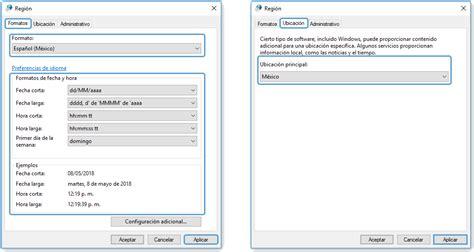 Configuración regional de Windows   eleventa Punto de Venta