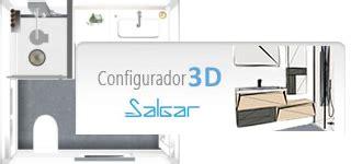 Configurador 3D SALGAR. Diseña tu baño a medida   Matmax ...