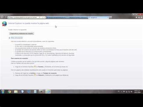 Configurar IE para acceso a  Solicitud de Certificado de ...