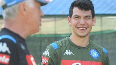 Confirma Nápoles llegada de Hirving Lozano   Corat