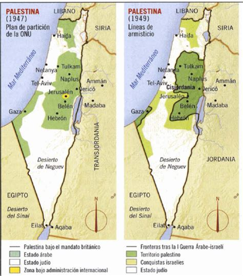 Conflicto árabe israelí  v : primera guerra árabe israelí ...