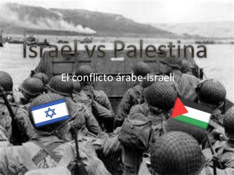 Conflicto de en medio oriente.