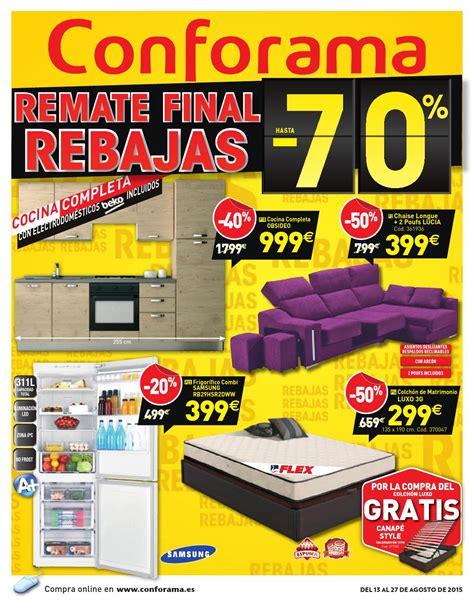 Conforama catalogo 13 27agosto2015 by CatalogoPromociones ...