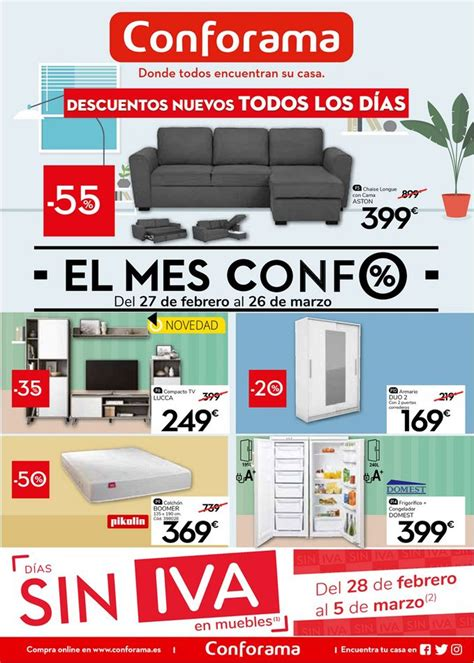 Conforama Oferta actual 27.02   26.03.2020   folleto 24.com