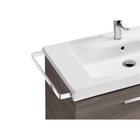 Conjunto completo mueble de baño Roca Victoria Basic 100 Nogal