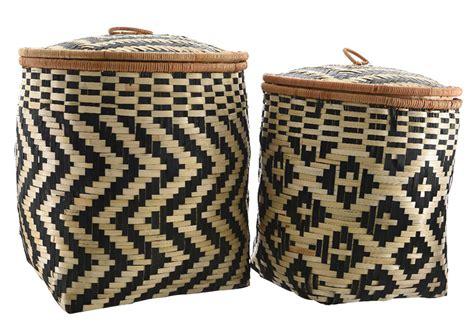 Conjunto de cestas GRECAS CON TAPA Ref. 19493656   Leroy ...