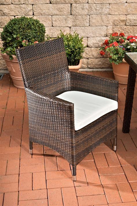 Conjunto de jardín FLORENCIA: mesa + 6 sillas poly ratán ...