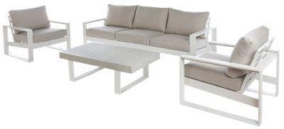Conjunto de muebles de exterior Las Vegas de aluminio para ...