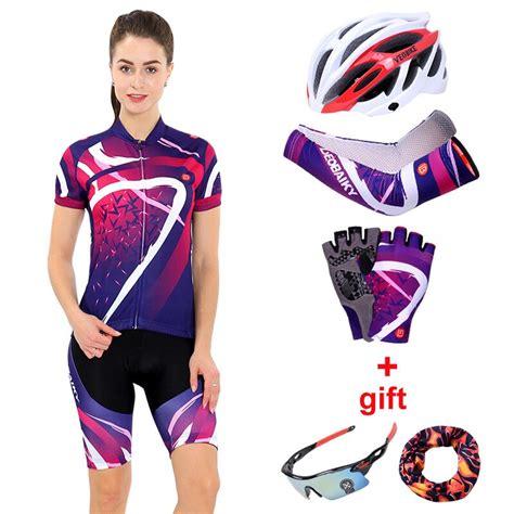 Conjunto de ropa de ciclismo para mujer 2018 equipo de ...