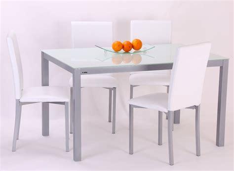 Conjunto mesa y 4 sillas TOP   Conforama