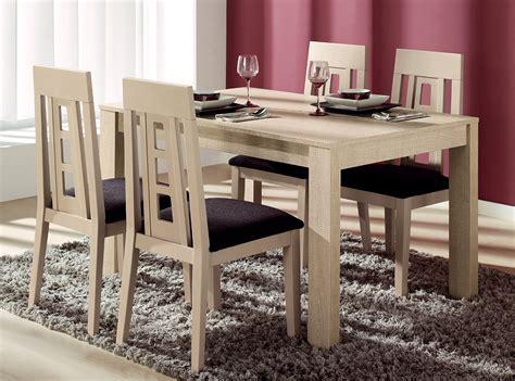 Conjunto mesas y sillas comedor KENER 75   Muebles La Fábrica