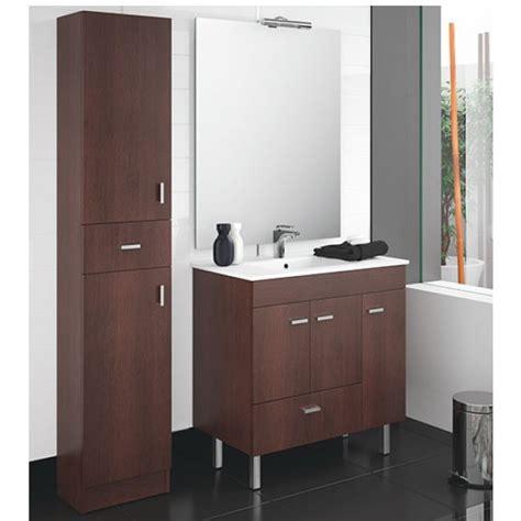 Conjunto Mueble de baño completo Salgar Betanzos 80 cm