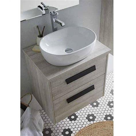 Conjunto mueble de baño de Sanchis + lavabo sobre encimera ...