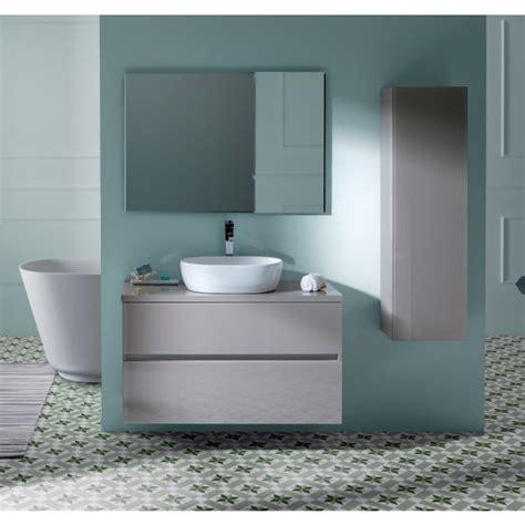 Conjunto Mueble de baño GLASS LINE efecto cristal con ...