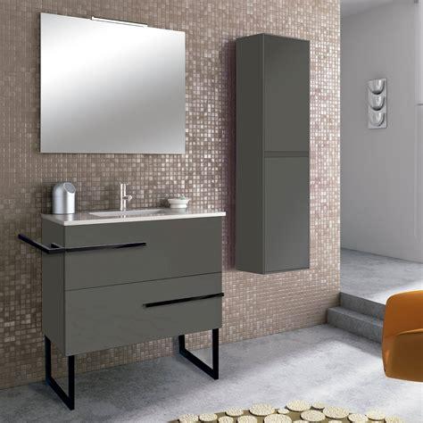 Conjunto mueble de baño Inve Borax con patas 2 cajones ...