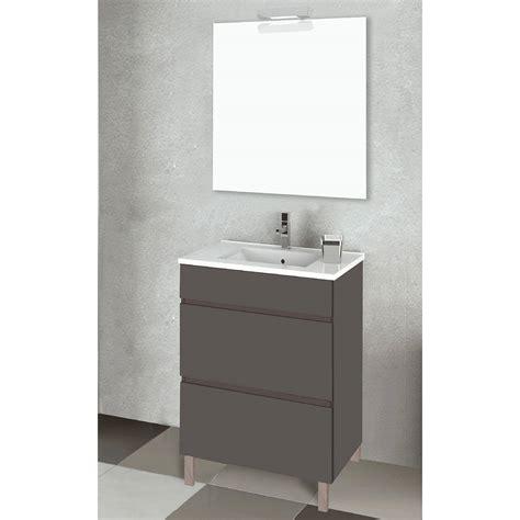 Conjunto mueble de baño Inve Elison II con patas 2 cajones ...