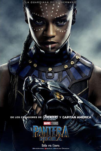 Conoce a los personajes de la película Pantera Negra de ...
