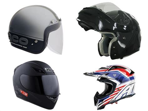 Conoce los diferentes tipos de casco para motocicleta ...