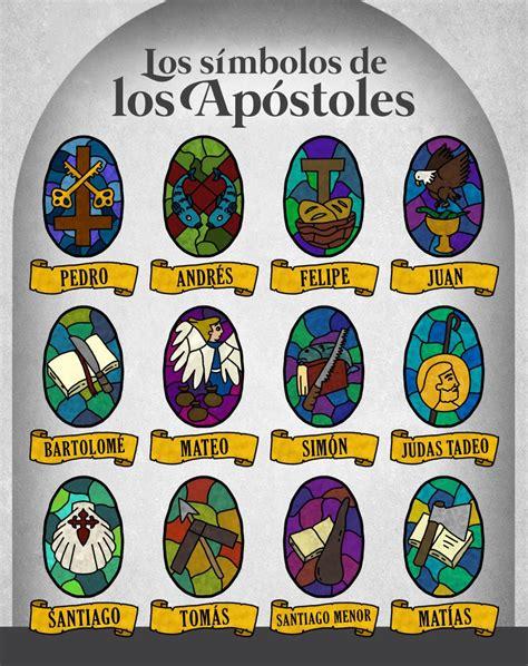 Conoce los NOMBRES DE LOS 12 APÓSTOLES y sus características